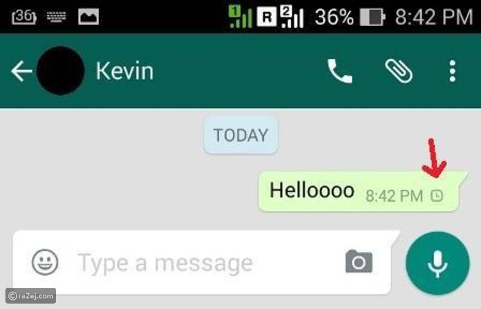كيف تمسح رسائل الواتس آب بعد إرسالها؟
