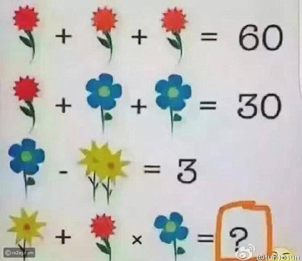 هذا اللغز لم يستطع مدرسو الرياضيات حله.. فهل تنجح أنت في اكتشاف الحل؟