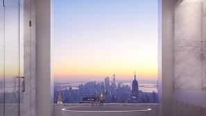 هل ترغب بالعيش في شقة تعلو 1396 قدم فوق مدينة نيويورك؟