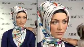 آخر صيحات حجاب الإسكارف التركي
