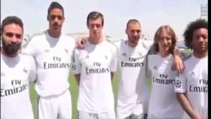 بالفيديو : لاعبي ريال مدريد يتحدثون العربية بشكل مضحك