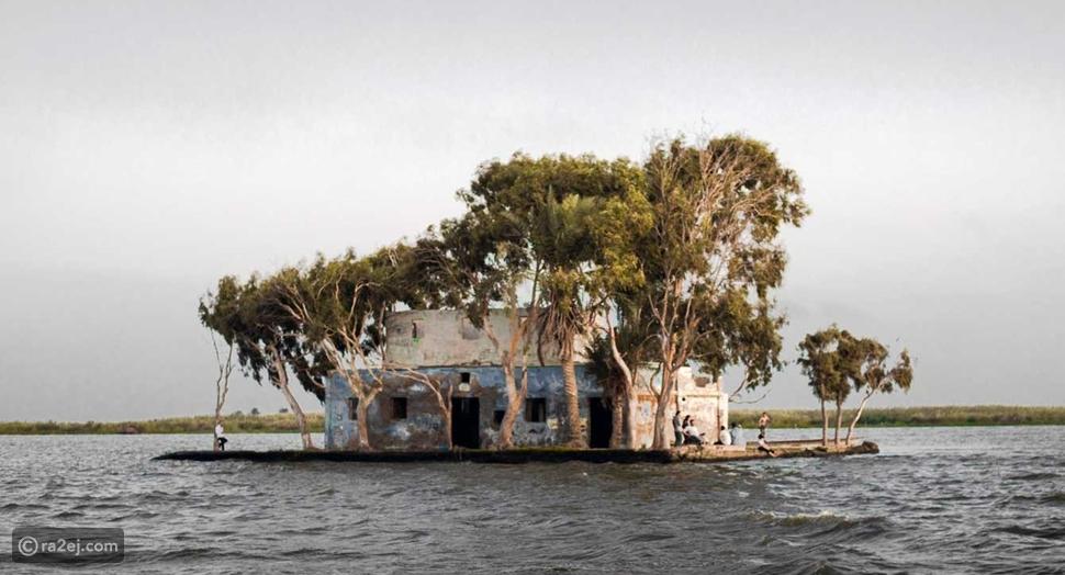 قرية الشخلوبة بمصر تثير الحيرة بصورة المنزل المهجور