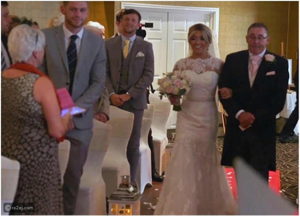 شاهد.. عروس مصابة بالشلل تعد مفاجأة مذهلة للعريس خلال حفل الزفاف