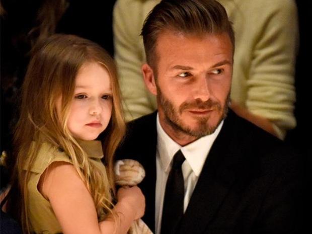 هاربر مع والدها