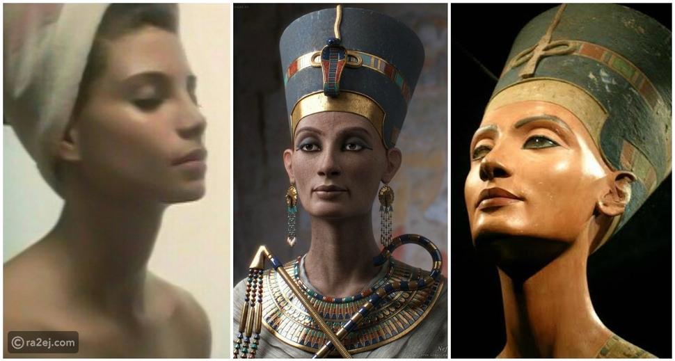صورة نادرة للفنانة سوسن بدر في صباها تثبت أنها نسخة طبق الأصل من الملكة نفرتيتي!