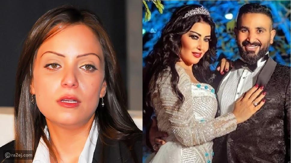 أحمد سعد يهنئ محمد رمضان وسمية الخشاب على زفافهما.. إليك القصة