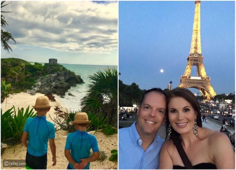 زوجان عاشقان للمغامرة قررا التخلي عن كل شئ والسفر في رحلة حول العالم