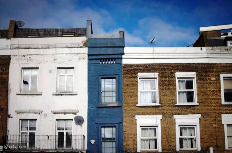 """أضيق منزل في لندن """"1.7متر"""" بسعر مثير للفضول"""