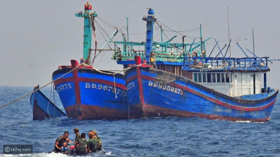 هذا البلد يُغرق 499 سفينة بعد تفجيرها لهذه الأسباب