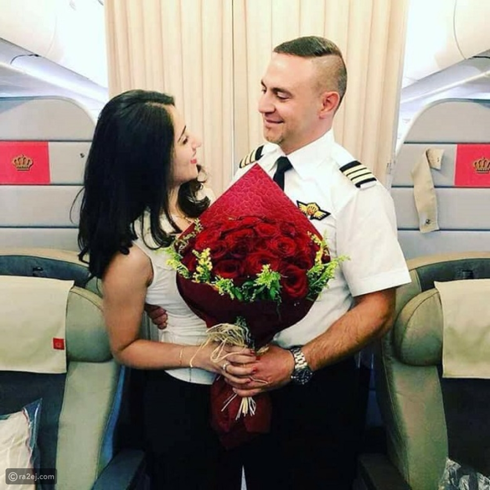 """طيار يطلب الزواج من مسافرة خلال رحلة جوية من """"عمان"""" إلى """"دبي"""""""