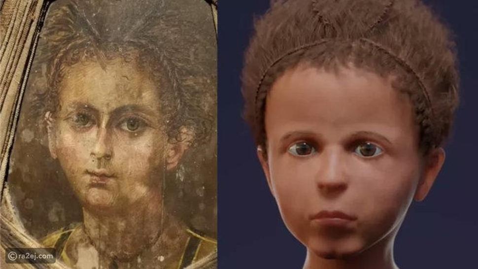 إعادة بناء وجه مومياء طفل مصري رقمياً: واقعة تحدث لأول مرة