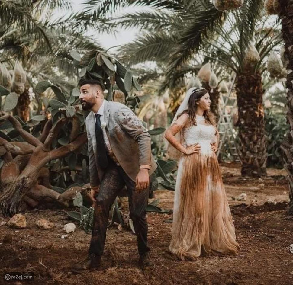 جلسة تصوير لعروسين في الطين تثير الغضب عبر السوشيال ميديا: ما القصة؟