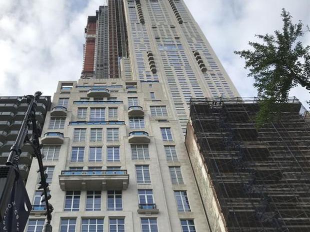 شقة ممتدة على أربعة طوابق في برج يتكون من 79 طابقاً