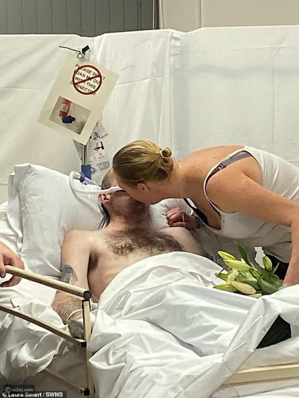 يحقق حلمه في الزواج من حبيبته في الساعات الأخيرة على فراش الموت