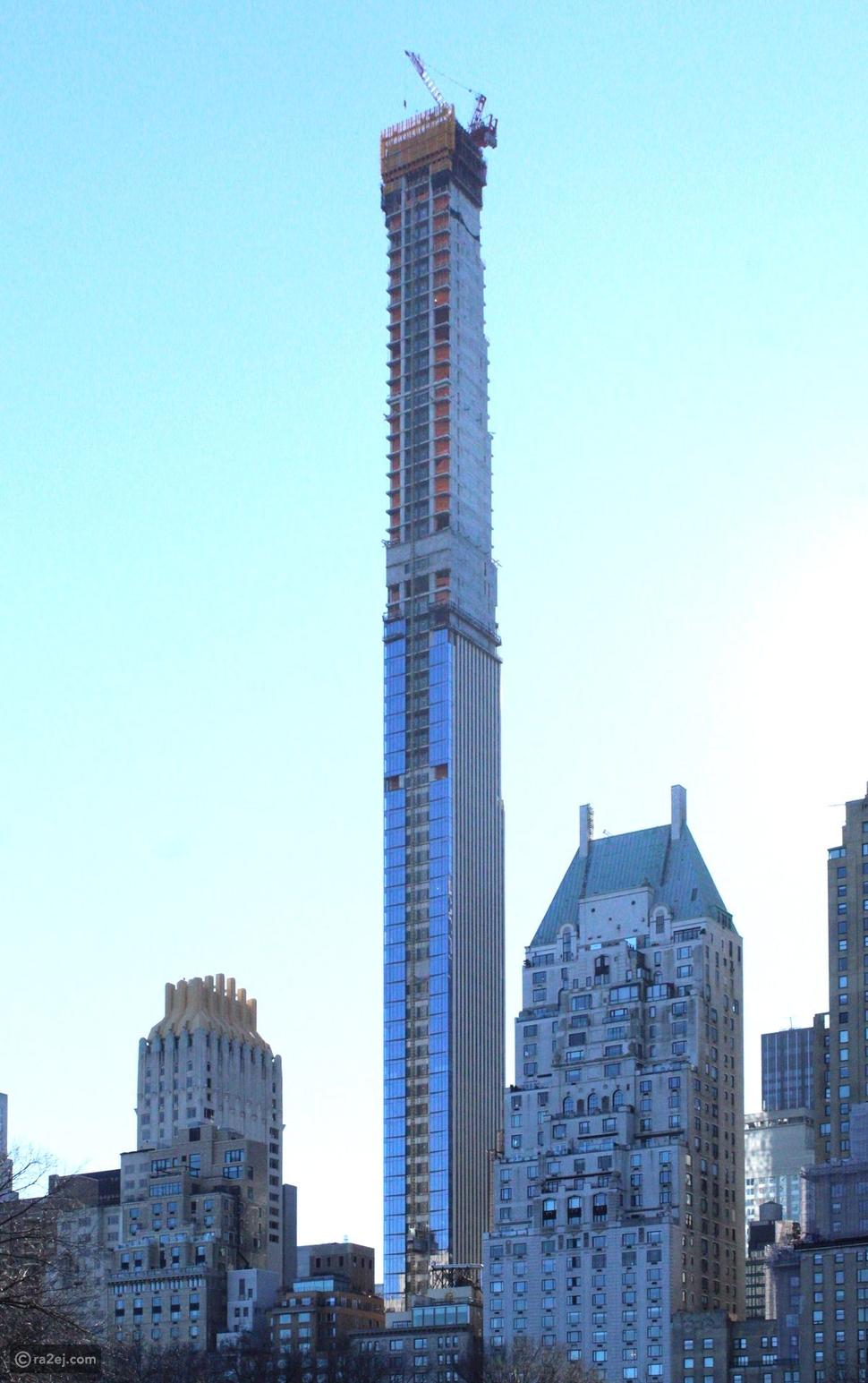 قصة أنحف برج في العالم: الطابق به متاح لساكن واحد فقط