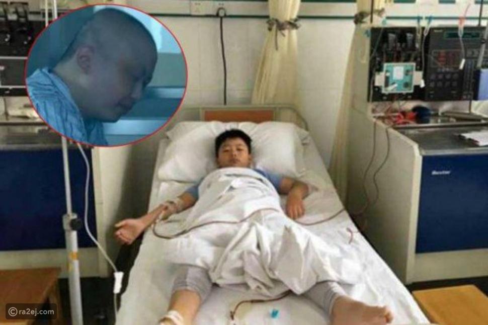 طفل يتعمد زيادة وزنه من أجل إنقاذ حياة والده