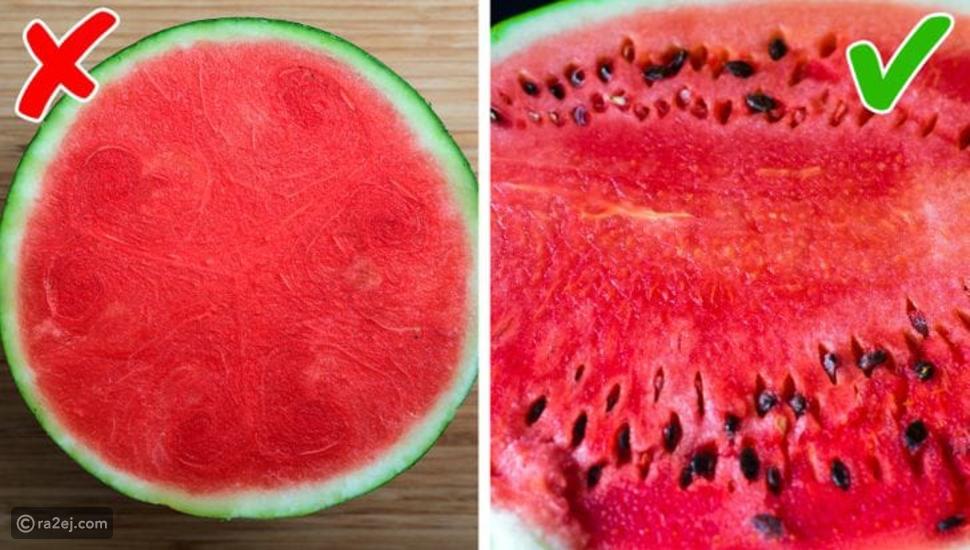 تناول البطيخ وبذوره