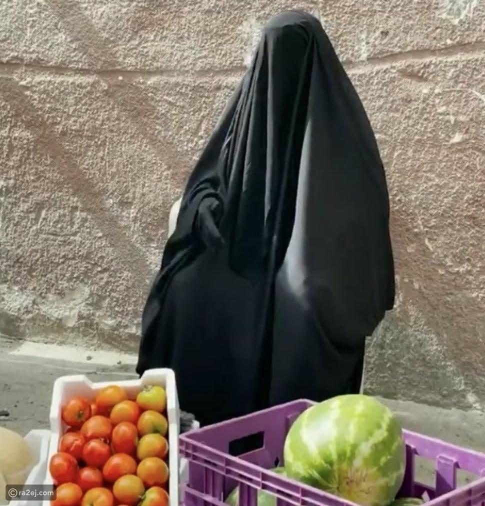 بائعة الخضار السعودية التي شغلت السوشيال ميديا تكشف تفاصيل قصتها