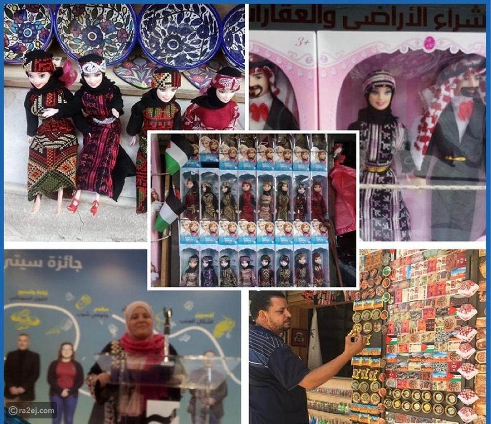 بالحجاب والزي التقليدي دمية باربي تأسر السياح في الأردن