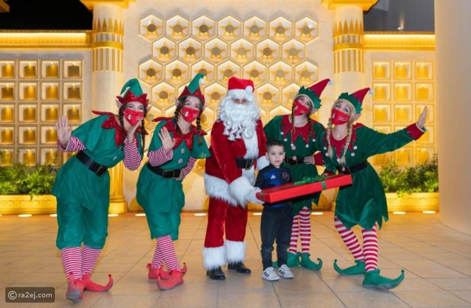 في القرية العالمية: بابا نويل يدخل غينيس يتحقيق رقم خيالي من الأمنيات