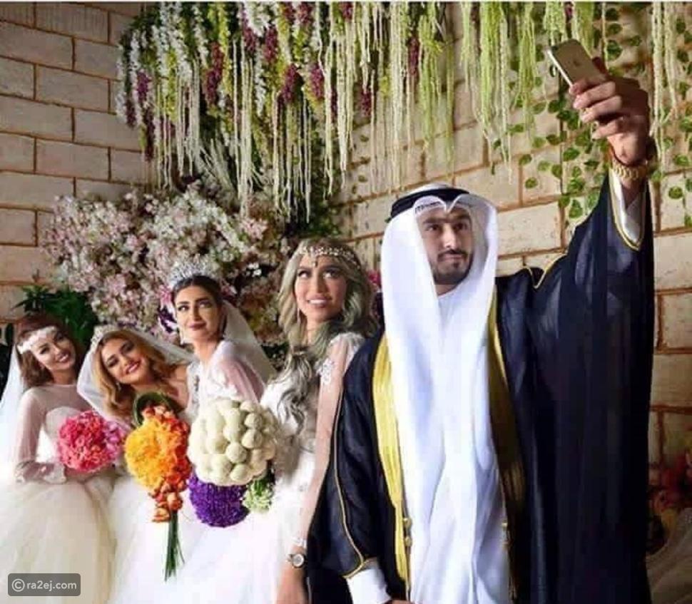 قصة الكويتي الذي تزوج أربع جميلات في يوم واحد...تفاصيل مثيرة للجدل!