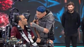 هدوء سيد عبد الحفيظ مع رامز جلال ينقلب إلى غضب في نهاية الحلقة