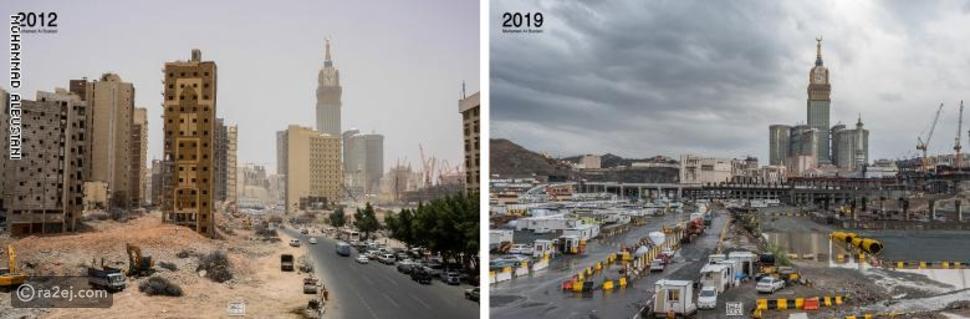 صور: هكذا تغيرت ملامح السعودية في 10 سنوات