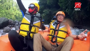 فيديو: هيكتور كوبر يسقط في شلال رامز جلال دون رحمة