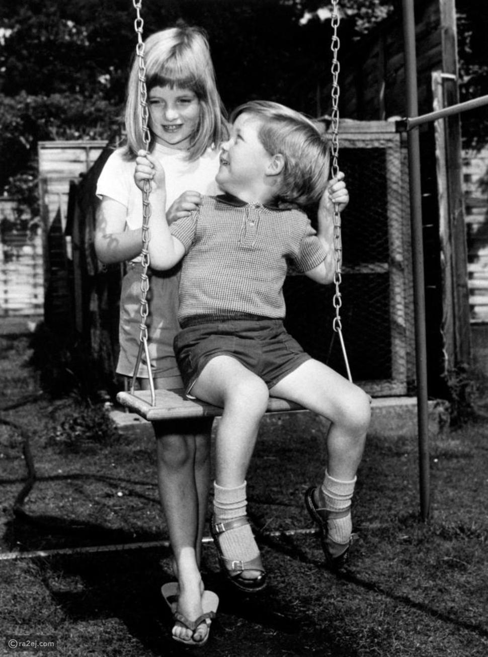 الأميرة ديانا خلال طفولتها