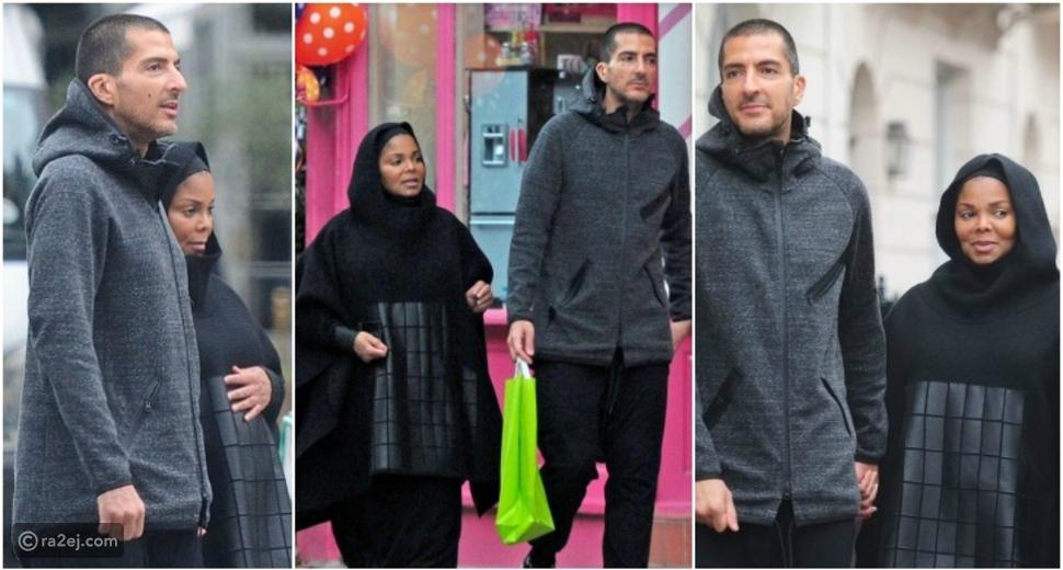 بالصور.. جانيت جاكسون: اسم طفلي من زوجي وسام المانع لن يكون عربياً