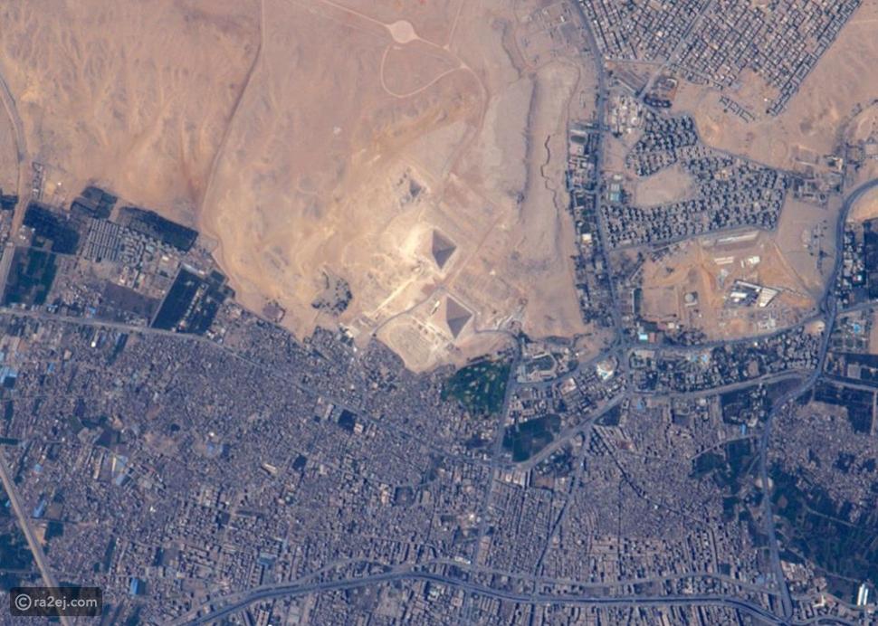 صورة رائعة لأهرامات الجيزة من محطة الفضاء الدولية.. كيف بدا الماضي جوار الحاضر في مصر؟