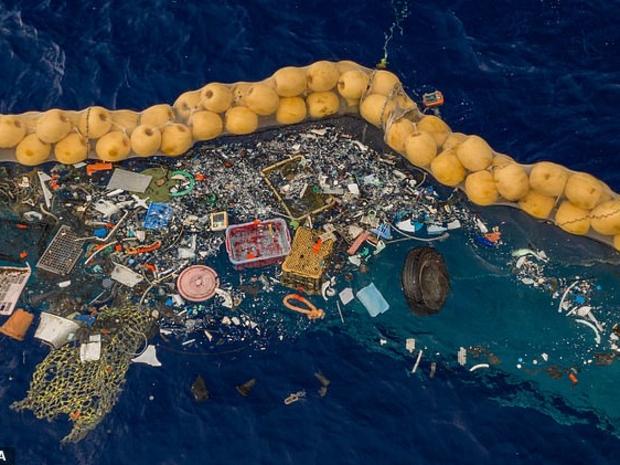 نفايات المحيطات
