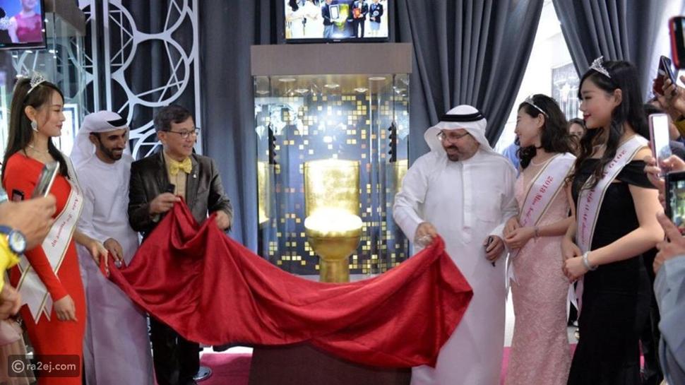دبي تدخل موسوعة غينيس للأرقام القياسية بمرحاض مرصع بالماس