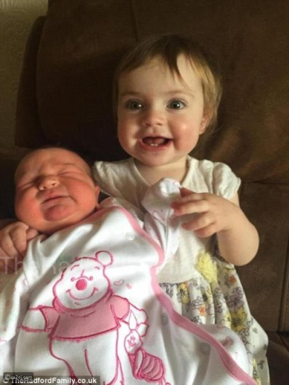 أسرة بريطانية تستقبل مولودها الـ19 وسط احتفال كبير.. شاهدوا الصور