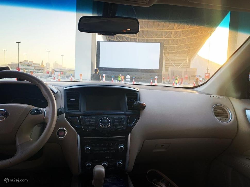 تفاصيل عن سينما السيارات الجديدة:  قريباً جداً في مول الإمارات