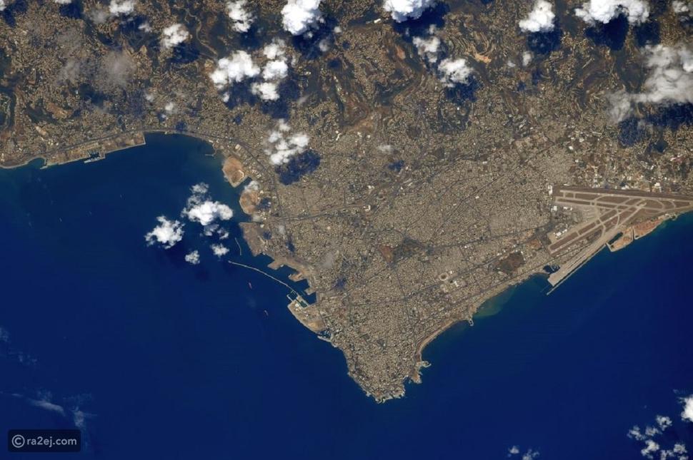 من محطة الفضاء ناسا: هكذا ظهرت صورة مرفأ بيروت بعد الانفجار الأليم