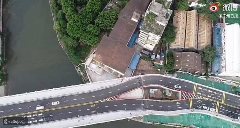 قصة أغرب منزل وسط الجسور في الصين: صاحبته وُصفت بالسيدة العنيدة