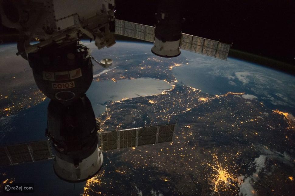 صور مذهلة من محطة الفضاء الدولية يظهر فيها بلدان عربيان
