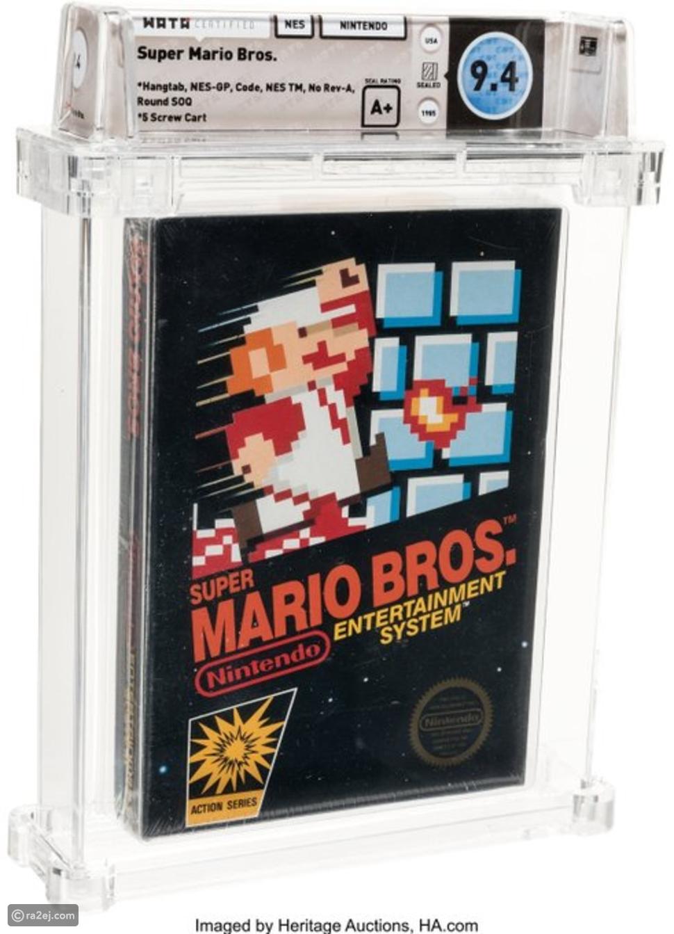مر على إصدارها 35 عاماً:  سعر خيالي لأغلى لعبة فيديو في العالم