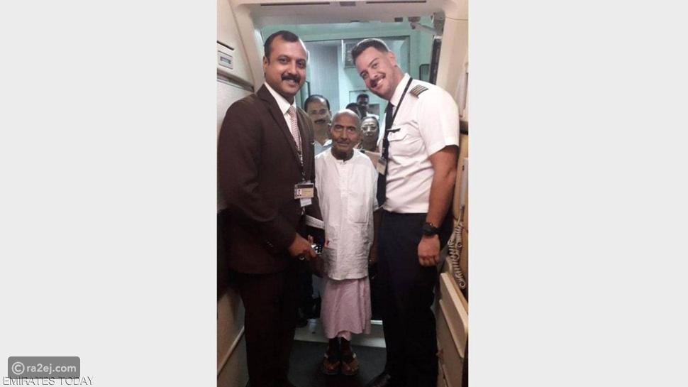 صور: حيرة في مطار أبوظبي والسبب سن هذا المسافر الذي صدم الجميع
