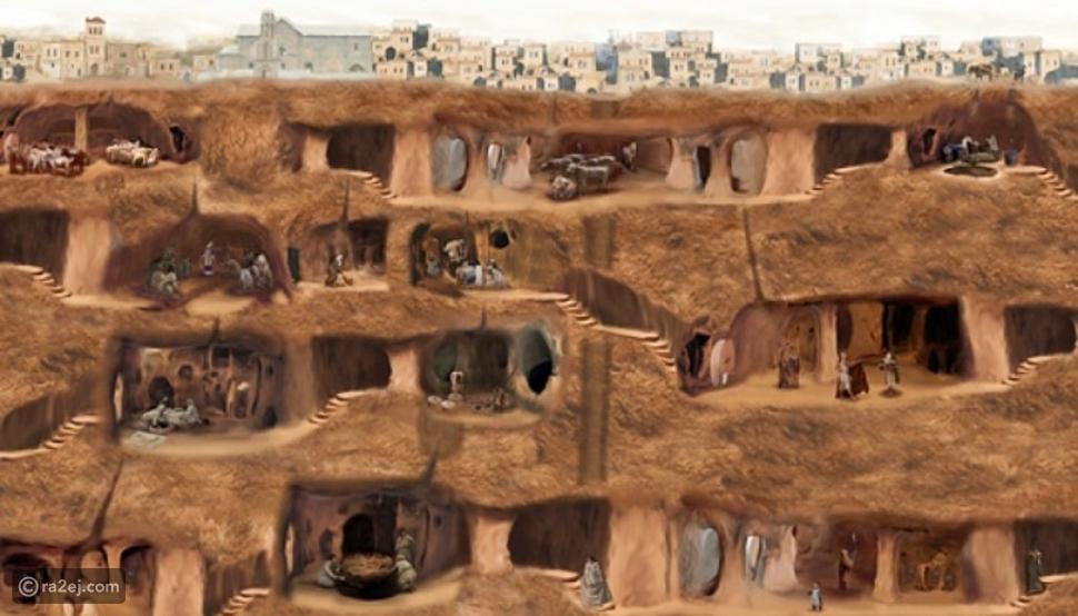 مدينة الجن في تركيا