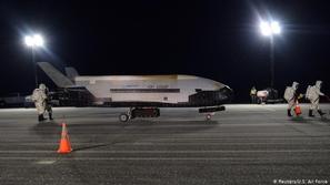 فلوريدا:هبوط طائرة فضائية بعد