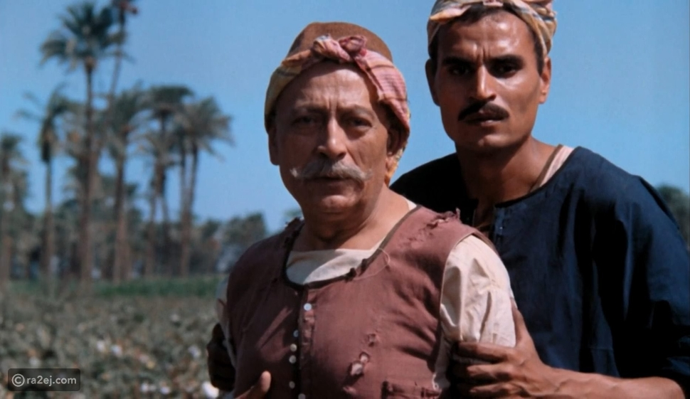 لقطة نادرة تجمع عزت العلايلي وأميتاب باتشان