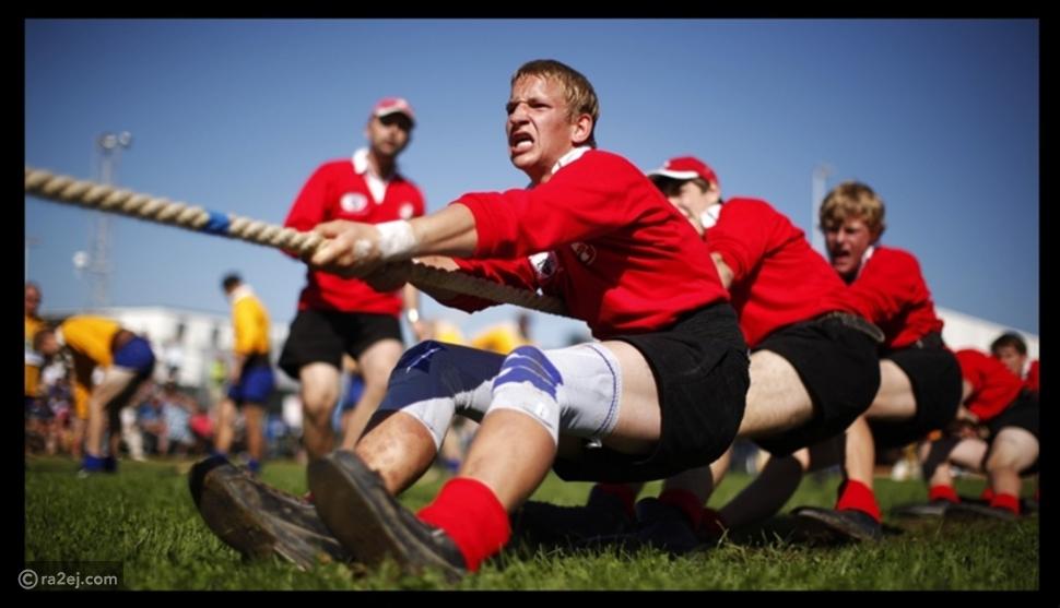 شد الحبل وصفع الآخر على وجهه: أغرب الرياضات التي تُلعب بشكل احترافي