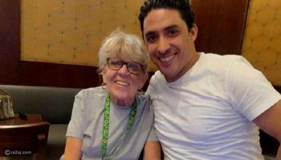 محمد وحبيبته السيدة العجوز