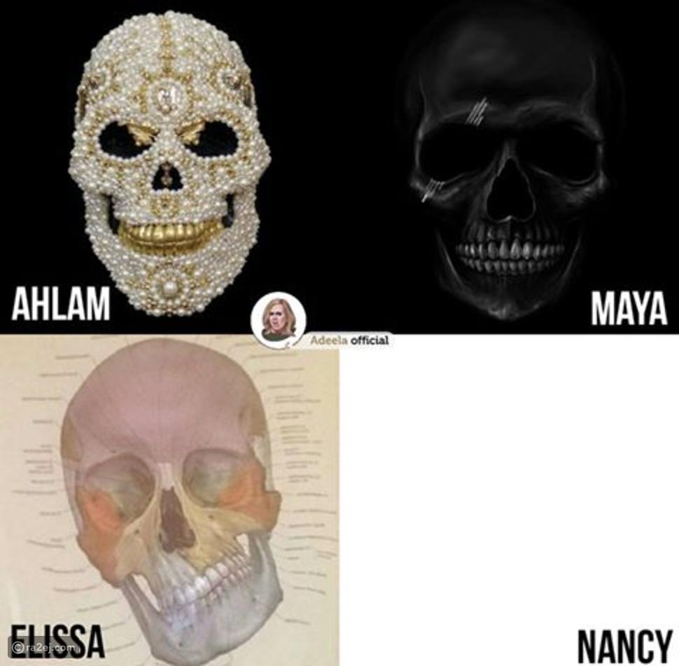 صورة تبين الفرق بين نانسي عجرم وإليسا وأحلام ومايا دياب بطريقة غير متوقعة إطلاقاً!