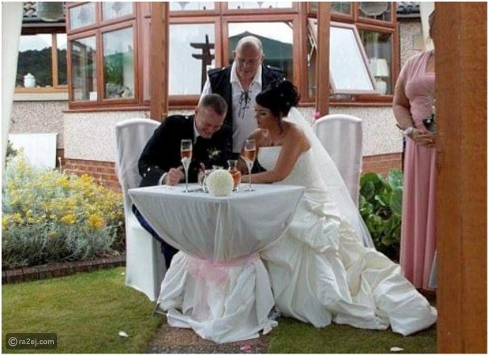 زوجان يقيمان حفل زفافهما للمرة الثانية بعد 10 سنوات زواج.. والسبب؟!