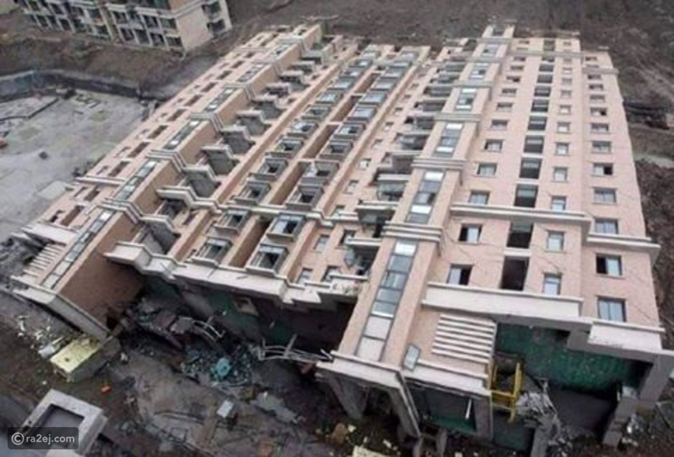 مبنى يفقد الوعي في الصين .. لن تصدق!