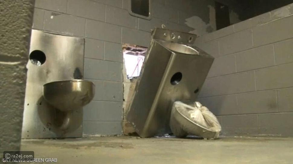 هروب عن طريق المرحاض في سجن أمريكي - سكاي نيوز عربية