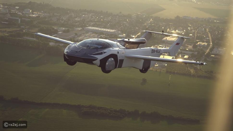 أول سيارة طائرة في العالم تطير 40 ساعة: هل مستعد لتجربتها؟